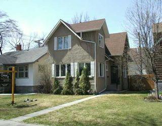 Photo 1: 201 CORDOVA Street in WINNIPEG: River Heights / Tuxedo / Linden Woods Single Family Detached for sale (South Winnipeg)  : MLS®# 2702469