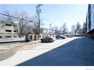 Photo 19: 155 Sherbrook Street in Winnipeg: West End / Wolseley Condominium for sale (West Winnipeg)  : MLS®# 1604815