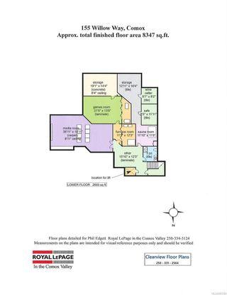 Photo 10: 155 Willow Way in Comox: CV Comox (Town of) House for sale (Comox Valley)  : MLS®# 887289