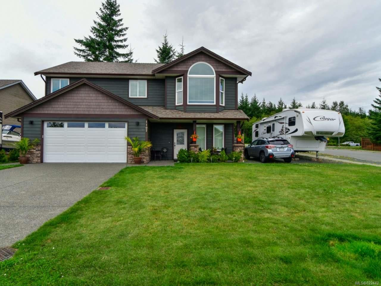 Main Photo: 1107 Cordero Cres in CAMPBELL RIVER: CR Willow Point House for sale (Campbell River)  : MLS®# 822442