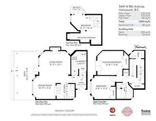 "Photo 20: 3441 W 8TH Avenue in Vancouver: Kitsilano 1/2 Duplex for sale in ""Kitislano"" (Vancouver West)  : MLS®# R2248280"