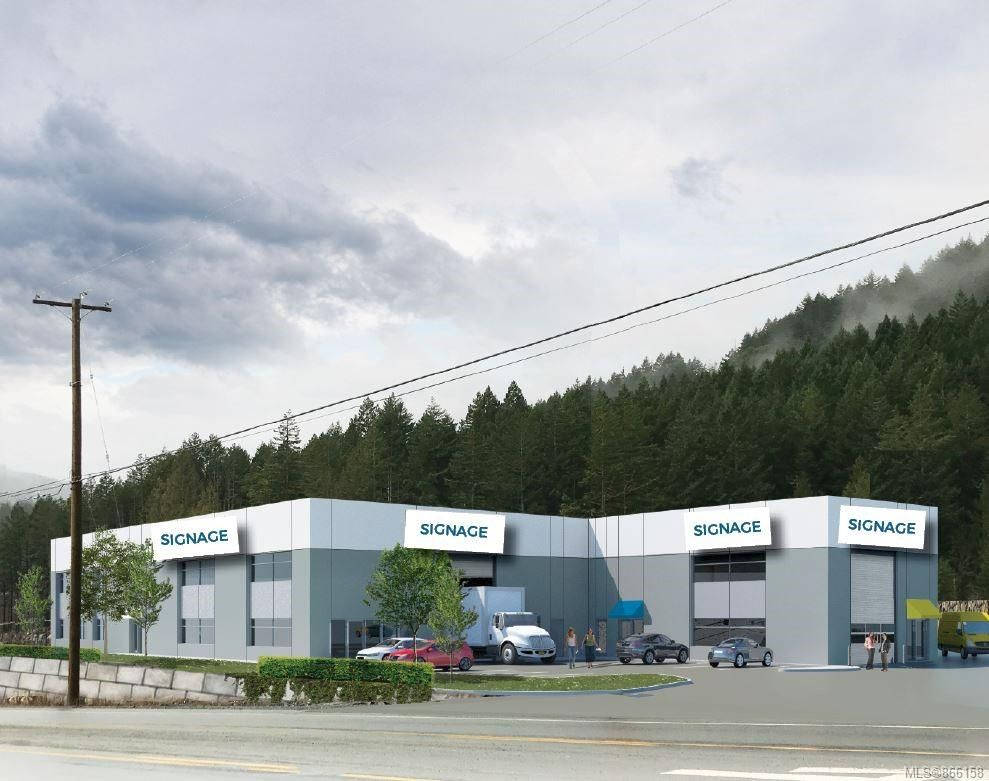 Main Photo: A 4382 West Shore Pkwy in : La Luxton Industrial for sale (Langford)  : MLS®# 866158