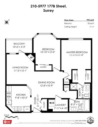 """Photo 25: 210 5977 177B Street in Surrey: Cloverdale BC Condo for sale in """"THE STETSON"""" (Cloverdale)  : MLS®# R2482496"""