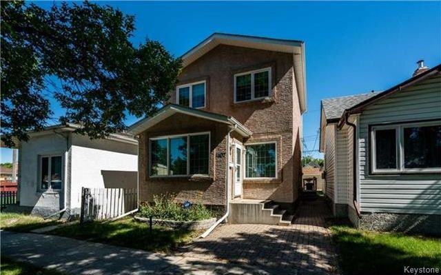 Main Photo: 1107 Magnus Avenue in Winnipeg: Shaughnessy Heights Residential for sale (4B)  : MLS®# 1720434