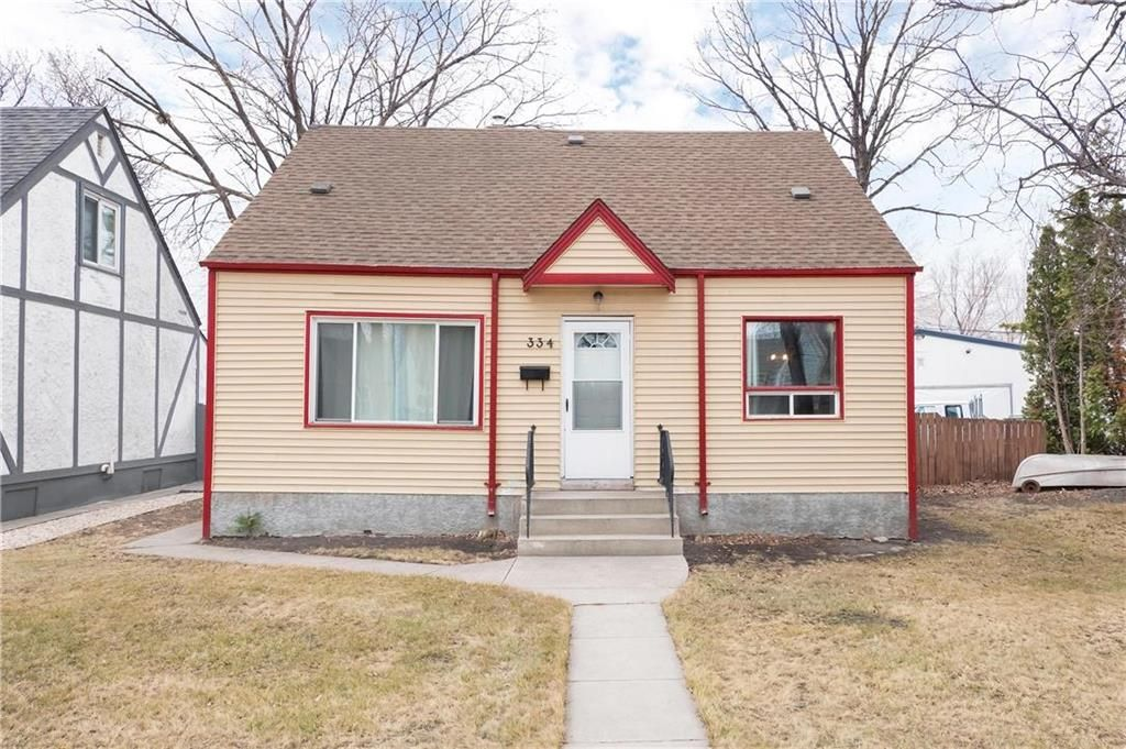 Main Photo: 334 Ottawa Avenue in Winnipeg: East Kildonan Residential for sale (3A)  : MLS®# 202107576