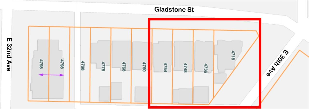 Main Photo: 4736 GLADSTONE Street in Vancouver: Victoria VE Land Commercial for sale (Vancouver East)  : MLS®# C8037914
