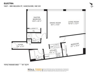 """Photo 7: 1007 989 NELSON Street in Vancouver: Downtown VW Condo for sale in """"ELECTRA"""" (Vancouver West)  : MLS®# R2616359"""