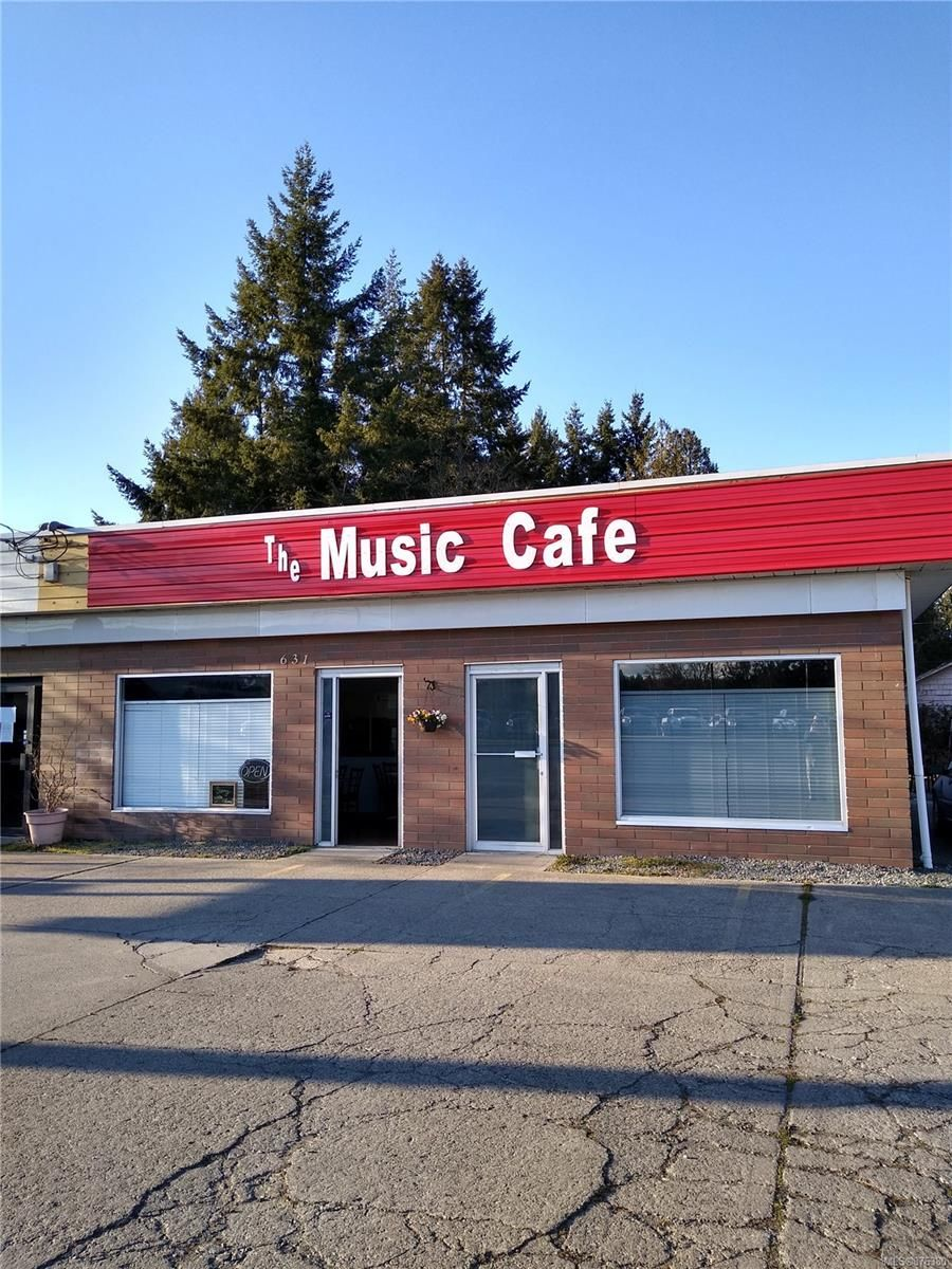 Main Photo: 1 & 2 631 E ISLAND Hwy in : PQ Parksville Business for sale (Parksville/Qualicum)  : MLS®# 876380