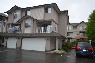 "Photo 1: 9 2538 PITT RIVER Road in Port Coquitlam: Mary Hill Townhouse for sale in ""RIVER COURT"" : MLS®# R2204567"