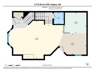 Photo 20: 2 716 56 Avenue SW in Calgary: Windsor Park Row/Townhouse for sale : MLS®# A1151316