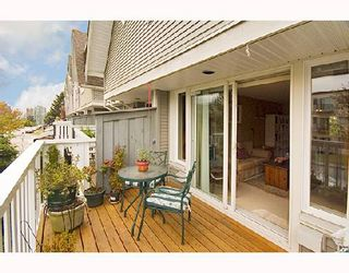"""Photo 7: 23 1203 MADISON Avenue in Burnaby: Willingdon Heights Townhouse for sale in """"MADISON GARDENS"""" (Burnaby North)  : MLS®# V667681"""