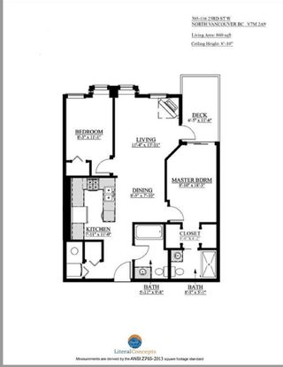 """Photo 12: 303 116 W 23RD Street in North Vancouver: Central Lonsdale Condo for sale in """"ADDISON"""" : MLS®# R2557990"""