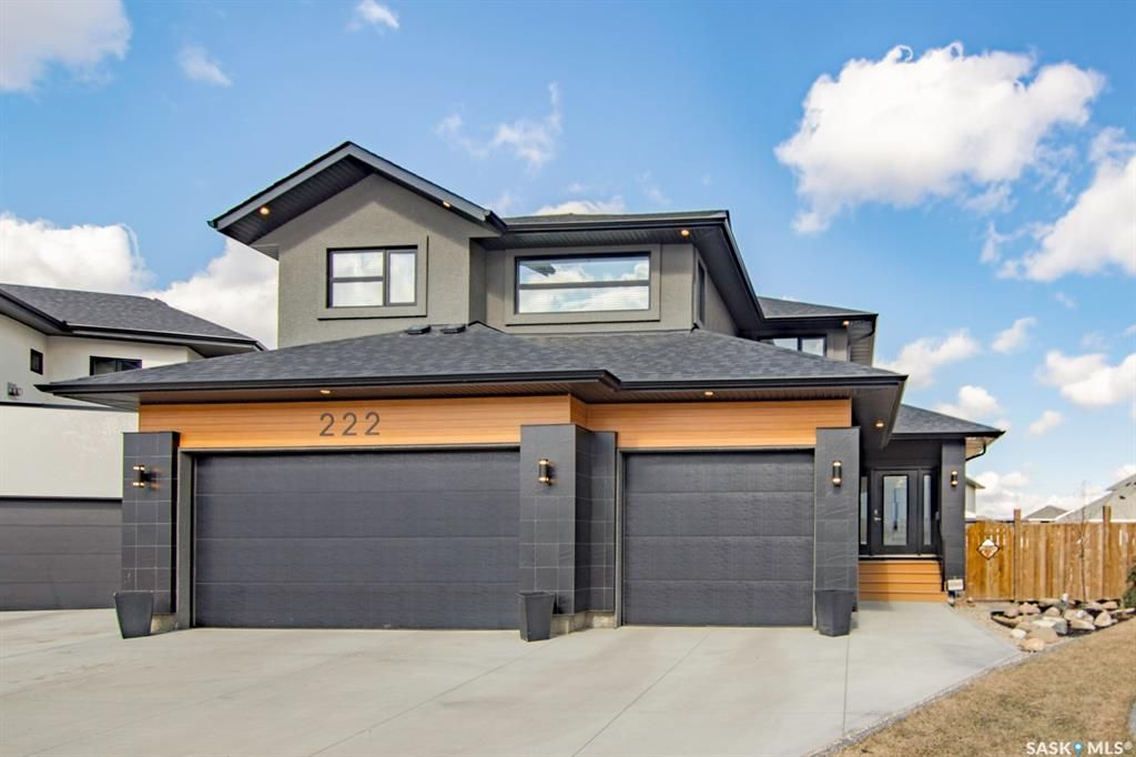 Main Photo: 222 Glacial Shores Cove in Saskatoon: Evergreen Residential for sale : MLS®# SK846477