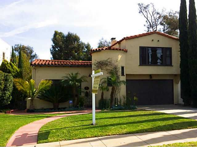 Main Photo: KENSINGTON House for sale : 3 bedrooms : 4119 Lymer Drive in San Diego