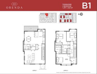 """Photo 2: 2 18850 72A Avenue in Surrey: Clayton Townhouse for sale in """"ORENDA"""" (Cloverdale)  : MLS®# R2596264"""