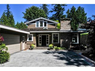 "Photo 1: 2476 124TH Street in Surrey: Crescent Bch Ocean Pk. House for sale in ""OCEAN PARK"" (South Surrey White Rock)  : MLS®# F1448273"