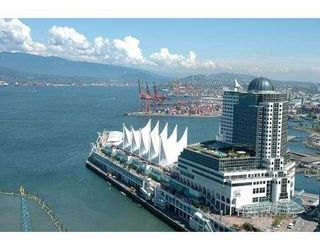 """Photo 1: 2704 1077 W CORDOVA ST in Vancouver: Coal Harbour Condo for sale in """"SHAW TOWER"""" (Vancouver West)  : MLS®# V537380"""