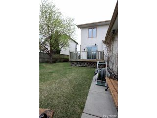 Photo 15: 40 Lonergan Place in WINNIPEG: Windsor Park / Southdale / Island Lakes Residential for sale (South East Winnipeg)  : MLS®# 1512356