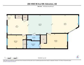 Photo 25: 206 10503 98 Avenue in Edmonton: Zone 12 Condo for sale : MLS®# E4233148