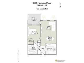 "Photo 20: 109 5835 HAMPTON Place in Vancouver: University VW Condo for sale in ""ST. JAMES HOUSE"" (Vancouver West)  : MLS®# V1122773"