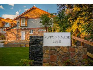 """Photo 1: 59 23651 132 Avenue in Maple Ridge: Silver Valley Townhouse for sale in """"MYRON'S MUSE AT SILVER VALLEY"""" : MLS®# V1132510"""