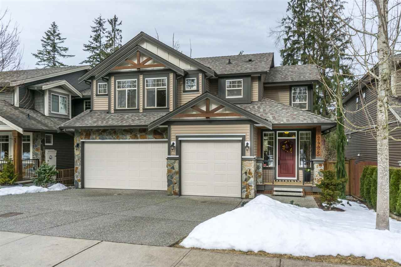 "Main Photo: 24425 KIMOLA Drive in Maple Ridge: Albion House for sale in ""THE UPLANDS @ MAPLECREST"" : MLS®# R2139124"