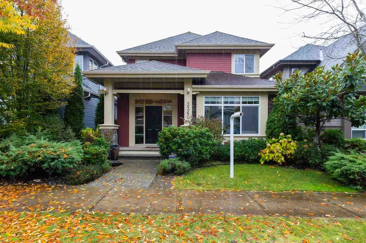 Main Photo: 3360 HIGHLAND Drive in Coquitlam: Burke Mountain House for sale : MLS®# R2332769