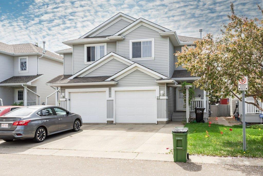 Main Photo: 22 13403 CUMBERLAND Road in Edmonton: Zone 27 House Half Duplex for sale : MLS®# E4266223