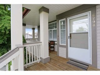 "Photo 2: 6798 184 Street in Surrey: Cloverdale BC 1/2 Duplex for sale in ""HEARTLAND"" (Cloverdale)  : MLS®# F1440702"