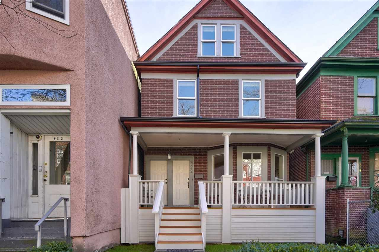 Main Photo: 522 KEEFER Street in Vancouver: Strathcona House for sale (Vancouver East)  : MLS®# R2536944
