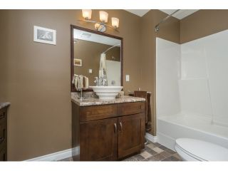 """Photo 18: 106 2844 273 Street in Langley: Aldergrove Langley Townhouse for sale in """"Chelsea Court"""" : MLS®# R2039587"""