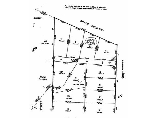 Main Photo: 20080 GRADE Crest in Langley: Langley City Land for sale : MLS®# F1229027