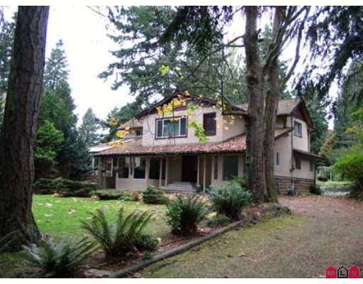 Main Photo: 13487 16TH AV in White Rock: Crescent Bch Ocean Pk. House for sale (South Surrey White Rock)  : MLS®# F2426853
