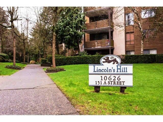 "Main Photo: 406 10626 151A Street in Surrey: Guildford Condo for sale in ""Lincolns Hill"" (North Surrey)  : MLS®# F1441674"