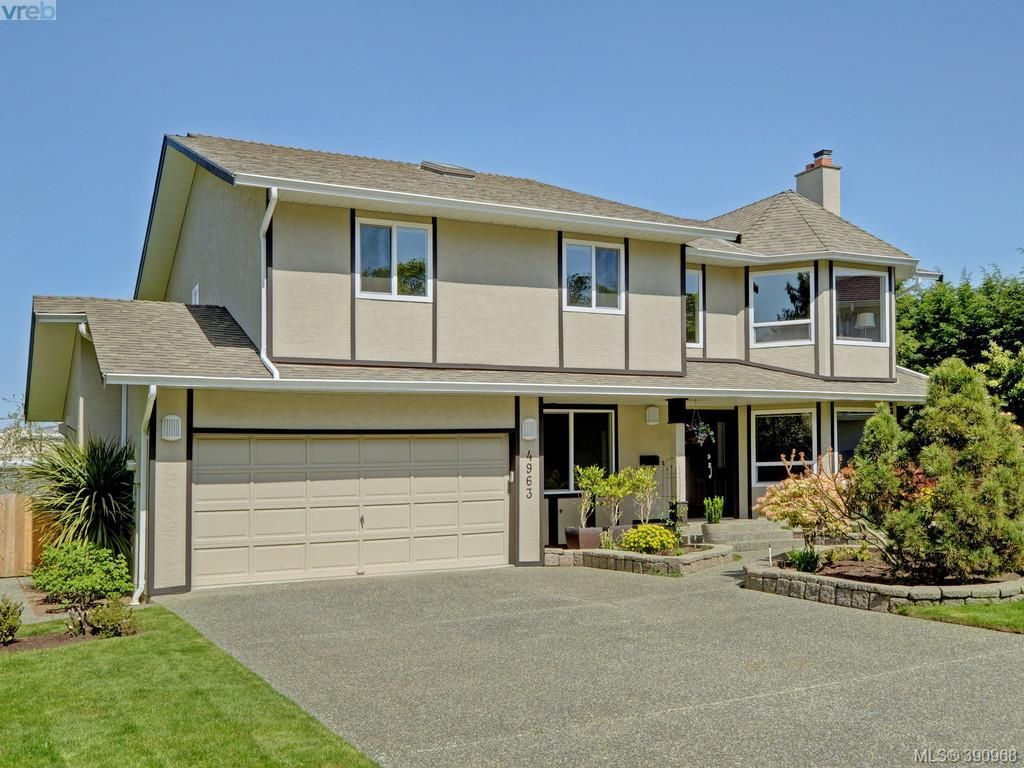 Main Photo: 4963 ARSENAULT Pl in VICTORIA: SE Cordova Bay House for sale (Saanich East)  : MLS®# 785855
