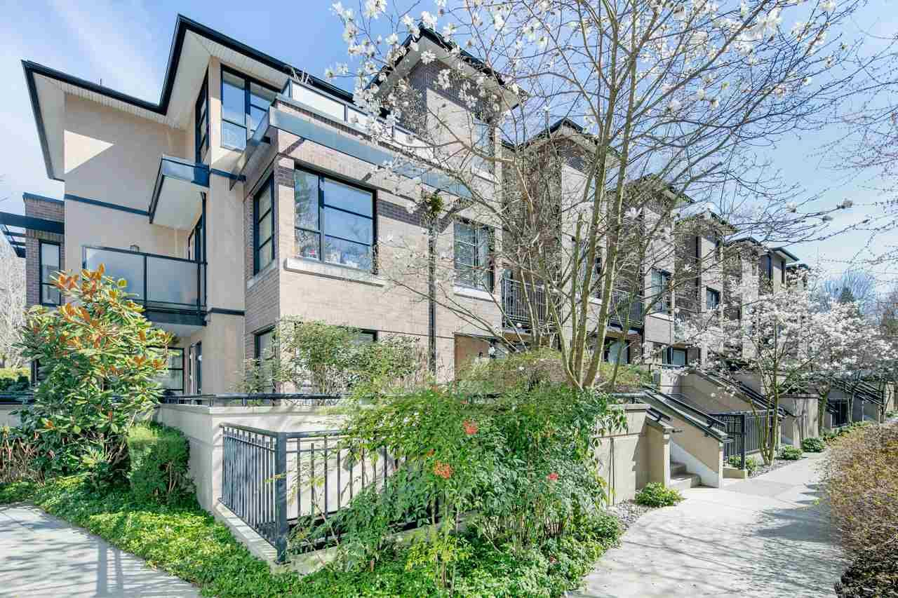 """Main Photo: 14 1863 WESBROOK Mall in Vancouver: University VW Townhouse for sale in """"Esse"""" (Vancouver West)  : MLS®# R2354042"""
