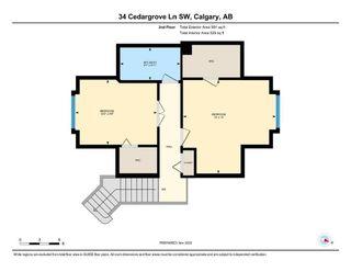 Photo 38: 34 Cedargrove Lane SW in Calgary: Cedarbrae Semi Detached for sale : MLS®# A1051957