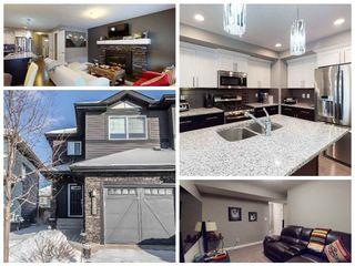 Photo 1: 17518 13 Avenue in Edmonton: Zone 56 House Half Duplex for sale : MLS®# E4227830