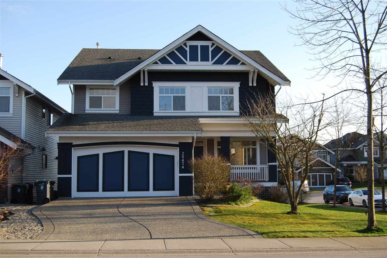 "Main Photo: 20474 67B Avenue in Langley: Willoughby Heights House for sale in ""Tanglewood"" : MLS®# R2560481"