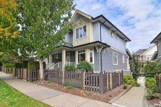 """Photo 1: 40 6575 192 Street in Surrey: Clayton Townhouse for sale in """"IXIA"""" (Cloverdale)  : MLS®# R2410313"""