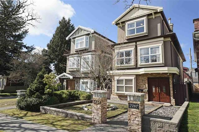 Main Photo: 7787 Hudson Street in Vancouver: Marpole House for sale (Vancouver West)  : MLS®# R2449192