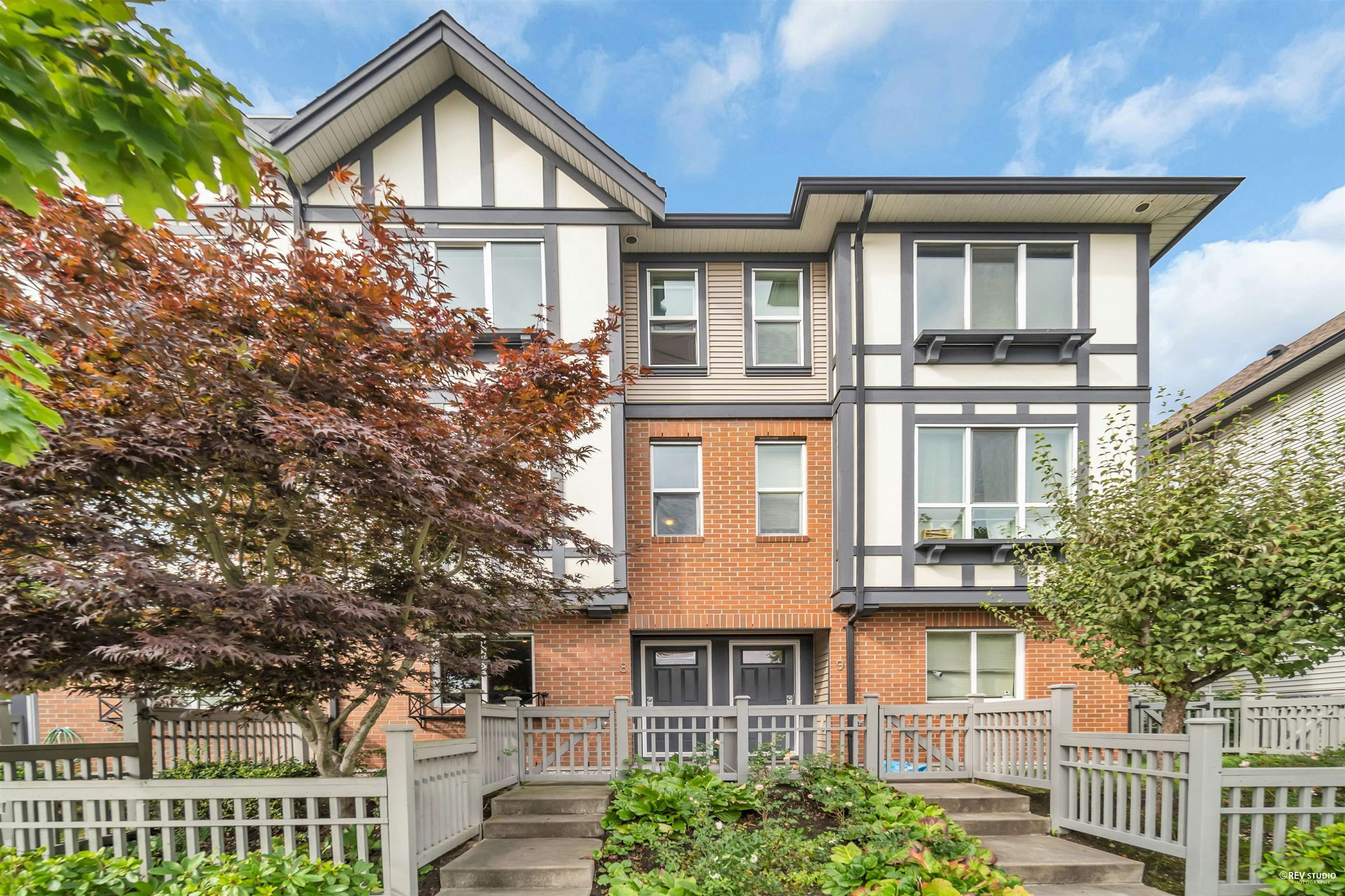 """Main Photo: 8 9533 TOMICKI Avenue in Richmond: West Cambie Townhouse for sale in """"WISHING TREE"""" : MLS®# R2619918"""