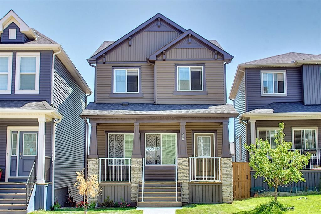 Main Photo: 26 Evanscrest Heights NW in Calgary: Evanston Detached for sale : MLS®# A1127719