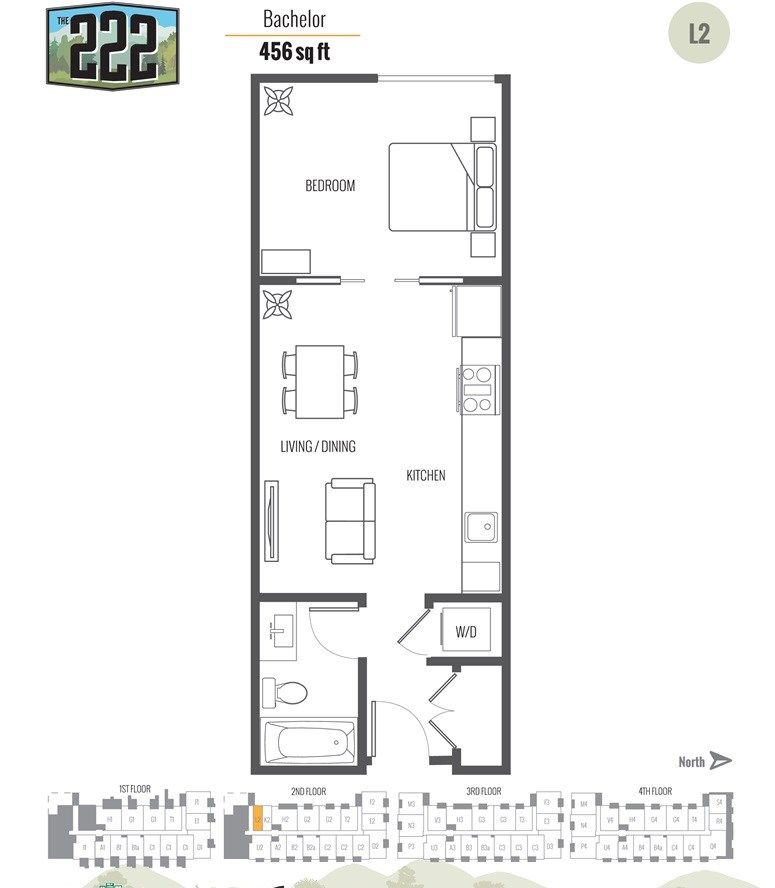 """Main Photo: 215 12320 222 Street in Maple Ridge: East Central Condo for sale in """"The 222 Phase 2"""" : MLS®# R2442520"""