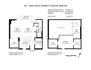 """Photo 29: 217 2001 WALL Street in Vancouver: Hastings Condo for sale in """"Cannery Row"""" (Vancouver East)  : MLS®# R2601895"""