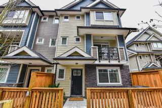 """Photo 1: 28 14285 64 Avenue in Surrey: East Newton Townhouse for sale in """"ARIA LIVING"""" : MLS®# R2152399"""