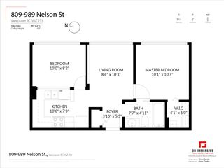 Photo 19: 809 989 NELSON STREET in Vancouver: Downtown VW Condo for sale (Vancouver West)  : MLS®# R2541423