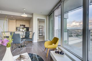 """Photo 6: 3302 488 SW MARINE Drive in Vancouver: Marpole Condo for sale in """"MARINE GATEWAY"""" (Vancouver West)  : MLS®# R2617197"""