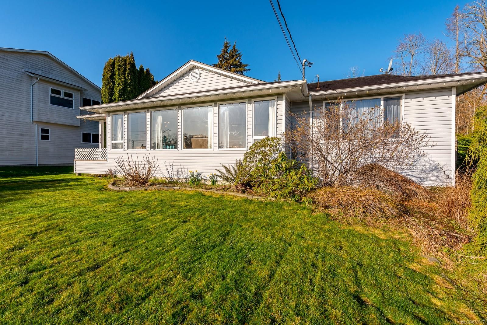 Main Photo: 5519 Tappin St in : CV Union Bay/Fanny Bay House for sale (Comox Valley)  : MLS®# 870917