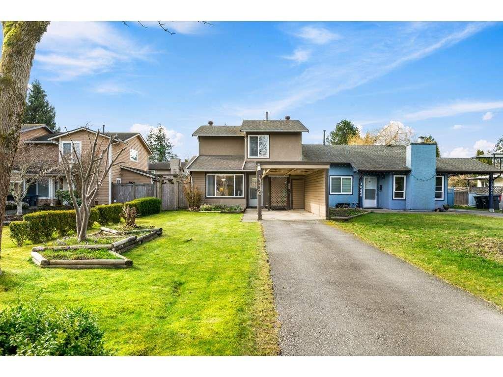 Main Photo: 13446 69 Avenue in Surrey: West Newton 1/2 Duplex for sale : MLS®# R2553033